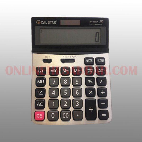 ماشین حساب CAL STAR مدل HK-1080N