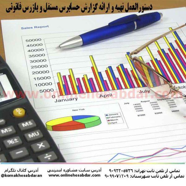 کتاب دستورالعمل تهیه و ارائه گزارش حسابرس مستقل و بازرس قانونی